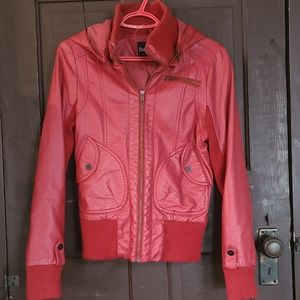 Like new Faux Leather Vest